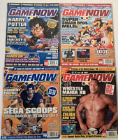 Game Now Video Game Magazine (formerly Expert Gamer) Jan, Feb, June, July 2002