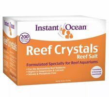 Instant Ocean Reef Crystals Reef Salt for Reef Aquariums, 200 gal