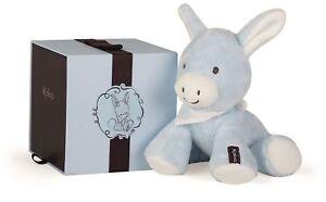 Kaloo REGLISS DONKEY BLUE - MEDIUM Baby Soft Toys Activities Gift BN