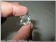 Jet Beautiful Crystal Quartz Icosahedron Gemstone Sphatik Original Crystal
