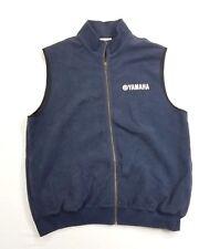Yamaha Mens Full Zip Cotton Vest Jacket Coat sz XL