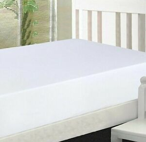 Bed Fitted Sheet 100% Cotton Sheet set Fitted Flat Pillow Cases Deep Pocket