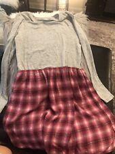 Gap Kids Dress 14/16 Nwot Tee Shirt Flannel