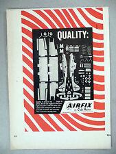 Airfix Hobby Model Kit PRINT AD - 1966 ~~ Craft Master airplane kits