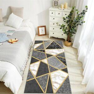 Anti-slip Mat Bathroom Flannel Doormat Kitchen Washable Mat Decoration Carpet