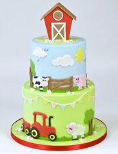 FMM Tractor Cutter Set - fondant, gum paste cake decorating