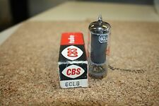 6CL6 CBS VINTAGE TUBE WITH BLACK PLATES - NOS