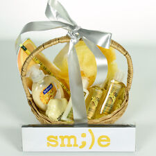 Smile - Bright Yellow Gift Basket of Cheer Yellow, Smile Face