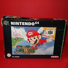VINTAGE 1996 NINTENDO 64 N64 SUPER MARIO 64 CARTRIDGE VIDEO GAME PAL BOXED