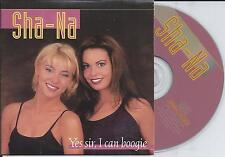 SHA-NA - Yes sir, i can boogie CD SINGLE 2TR Euro Disco 1998 BELGIUM (BACCARA)