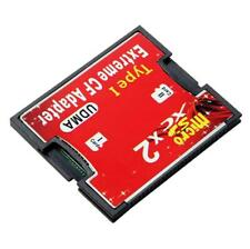 High Speed Sd Card to Compact Flash Slim Type I Cf Adapter Card Reader Adapter