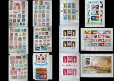 World Stamp Collection Mix Latin America Asia Gibraltar Barbuda Isle Of Man Ext.