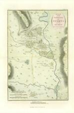 More details for 1817 original antique map topography of sparta ancient greece anacharsis (10)