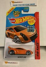 Mastretta MXR #160 * Orange * 2014  Hot Wheels Factory Set * A25
