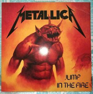 "Metallica Jump in the Fire 12"" - Vertigo UK Metal 312"