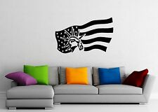 Wall Stickers Vinyl Decal United States of America Flag Statue of Liberty ig1542