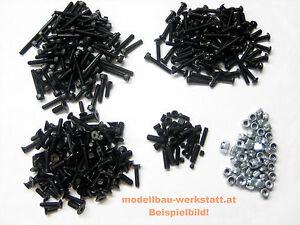 XXL Schrauben-Set Stahl hochfest Mugen MBX-7 MBX7 screw kit