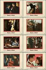 JAMES DEAN EAST OF EDEN Complete Set Of 8 Individual 8x10 LC Prints 1955