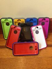 iPhone 5/5S Rugged Case with Screen Protector + Holster (Works With Touch ID)