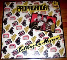 "Propaganda  Calling On Moscow 1979 EPIC 3E36451 10"" 33 rpm EP NM  Fast Free Ship"