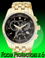 citizen eco drive calibre 8700 watch face protector x 6