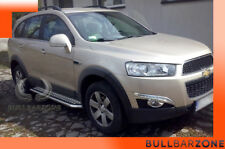 CHEVROLET CAPTIVA 2010-2015 MARCHE-PIEDS INOX PLAT / PROTECTIONS LATERALES