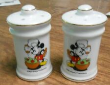 Vintage Mickey Mouse Walt Disney Salt And Pepper Shakers Made In Japan