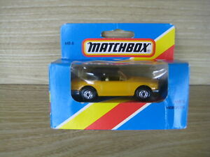 MATCHBOX SUPERFAST   MB6 MERCEDES  Yellow    ABSOLUTELY MINT