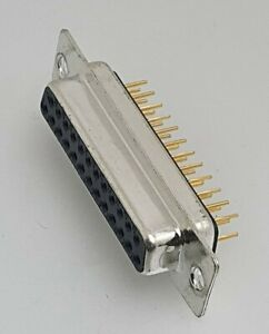 25 WAY D SUB FEMALE CONNECTOR - PCB MOUNT