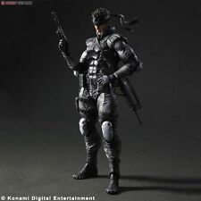 Metal Gear Solid SOLID SNAKE Play Arts Kai Figure LE Square Enix NEW RARE