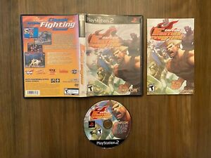 Capcom Fighting Evolution (Sony PlayStation 2 PS2) [Complete In Box]