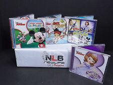 Lot Of 4 Disney Junior CD's CRACKED CASES