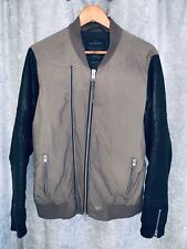 All Saint Jacket With Leather Sleeves