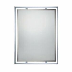 Quoizel UPRZ53426C Uptown Ritz Mirror in Polished Chrome