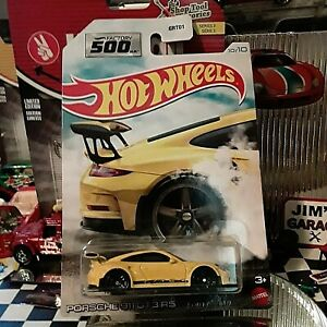 2021 Hot Wheels Factory 500 H.P. #10 Porsche 911 GT3 RS Walmart Exclusive