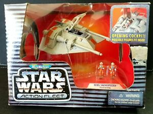 Micro Machines Star Wars Action Fleet Rebel Snowspeeder - Galoob