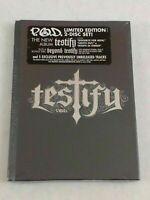 POD Testify Limited Edition 2 Disc Set P.O.D. CD Jan-2006 +bonus disc Sealed New