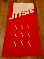 Jitsie Multi Scarf Solid Neck Warmer Buff Red/White Trials Cycling Road Moto