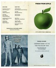 Beatles Ringo Starr 1974 Goodnight Vienna Fresh From Apple Promo Leaflet.