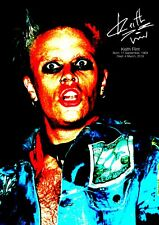 Keith Flint Poster tribute - Retro effect #3 - The Prodigy - A3 - 420mm x 297mm