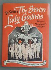 """The Seven Lady Godivas"" Dr. Seuss 1987 Adult Book 1st printing re-issue HC/DJ"