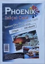 200 feuilles Phoenix A4 210G/m² double face photo mat / MAT CARTE
