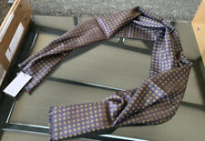 BNWT Paul Smith Wool Silk Blend Reversible Scarf Made In Italy RRP £155