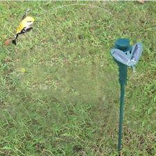 Solar Power Vibration Dancing Fly Fluttering Hummingbird Birds Garden Yard Decor