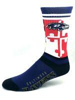 Baltimore Ravens For Bare Feet Maryland State Flag Team Crew Socks