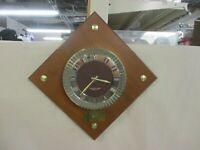 "Vintage 12"" Westclox Mid-Century Modern Wall Clock FAST SHIPPING!"