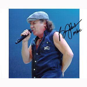 Brian Johnson - AC/DC (80802) - Autographed In Person 8x10 w/ COA