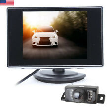 "3.5"" LCD TFT Color Screen Car Monitor  for DVD DVR Car Rear View Backup Camera"