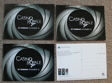 "More details for 4x casino royale james bond 007 promo cinema 6x4"" postcard's sony ericsson movie"