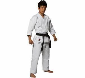 New Fuji Sports Mens Kids Womens Advanced Brushed Karate Gi Kimono - White